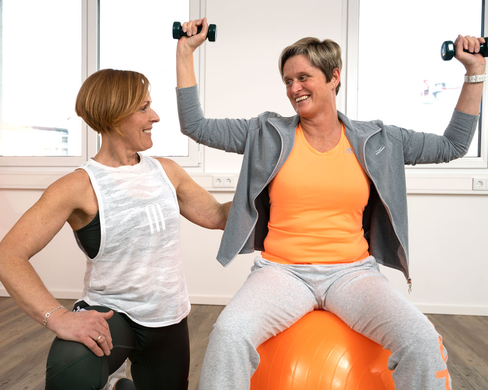 Resport Langenau mit Barbara Stroß, Resport plus / Rehasport Prävention & Therapie / Fit & Fun, Rehasport, Osteoporose, Therapie & Prävention, Personal Training